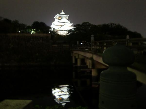 大阪城夜とか2