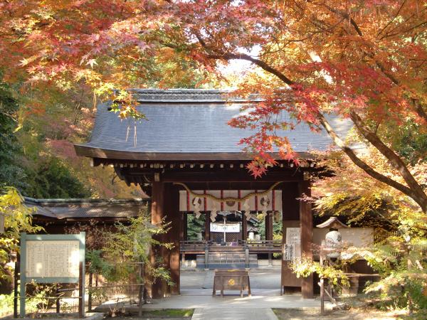 京都御所の神社3