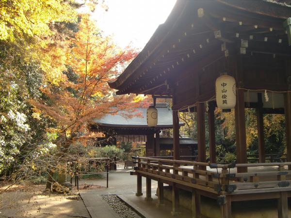 京都御所の神社5