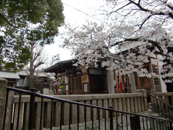 桃谷周辺の神社1
