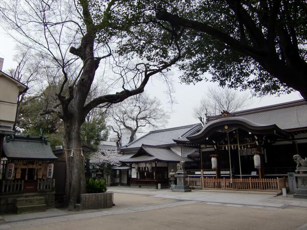桃谷周辺の神社3