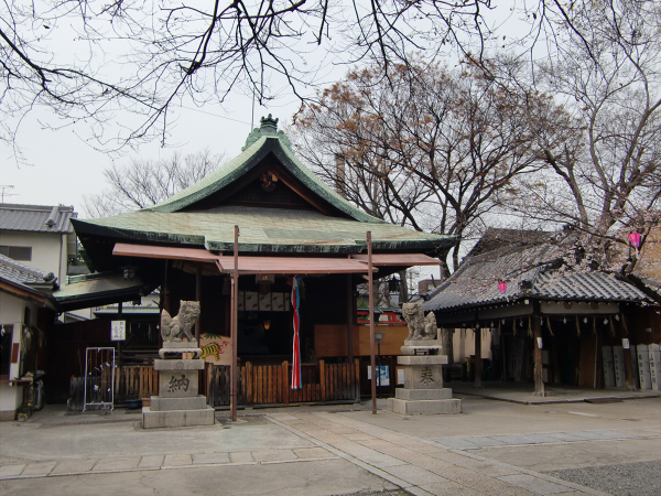 桃谷周辺の神社4