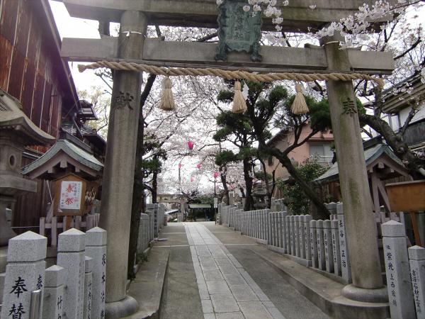 桃谷周辺の神社5