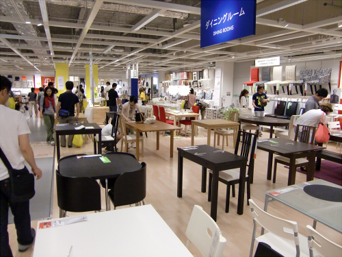 IKEAの店内の写真11