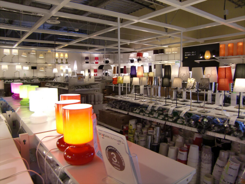 IKEAの店内の写真15