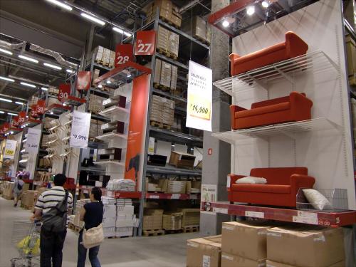 IKEAの店内の写真18