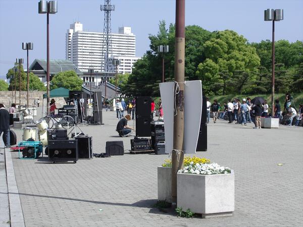 大阪城夜とか5