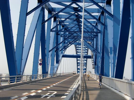 IKEAの行き帰りに橋の上から05