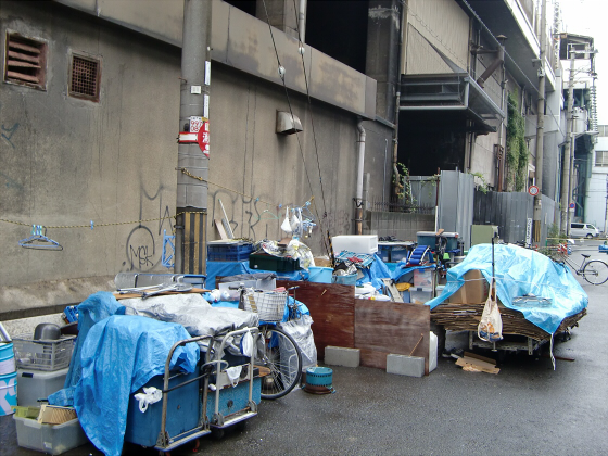 JR新今宮駅~あいりん地区06