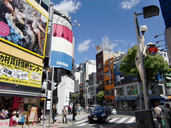 心斎橋アメリカ村周辺の風景写真2-3