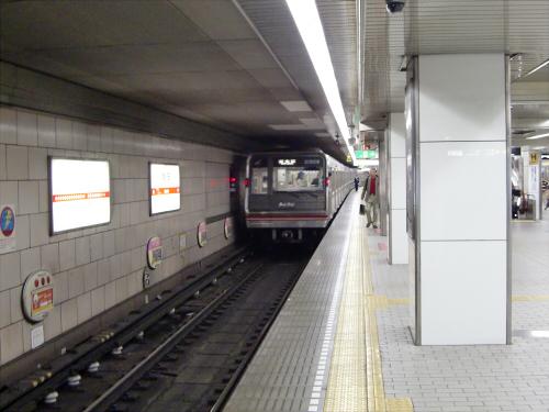 大阪市営地下鉄の写真を少しだけ3