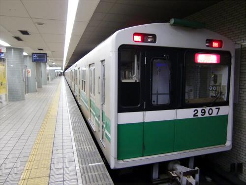 大阪市営地下鉄の写真を少しだけ5