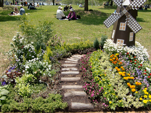 花博記念公園鶴見緑地の花壇04