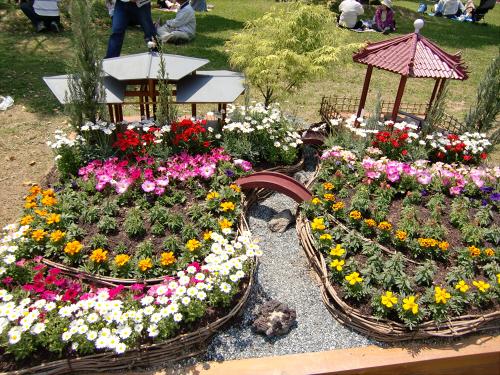 花博記念公園鶴見緑地の花壇05