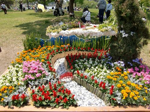 花博記念公園鶴見緑地の花壇06