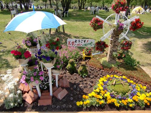 花博記念公園鶴見緑地の花壇10