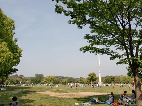 花博記念公園の風景写真1-1