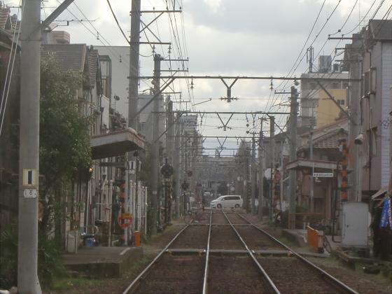 阪堺電車走行中08
