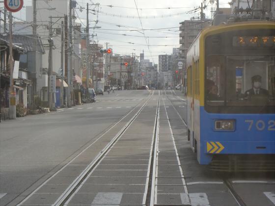 阪堺電車走行中09