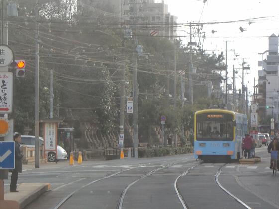 阪堺電車走行中10