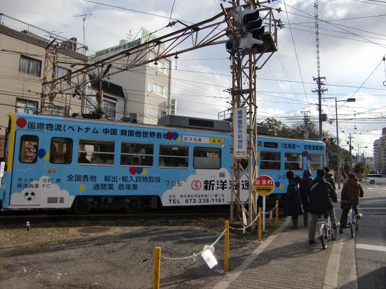 阪堺電車走行中11