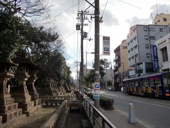 阪堺電車走行中12