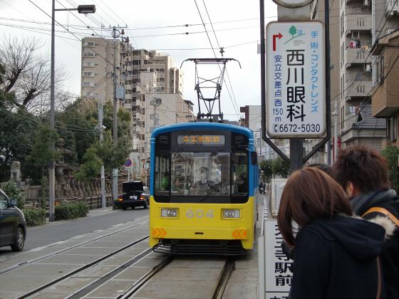 阪堺電車走行中13