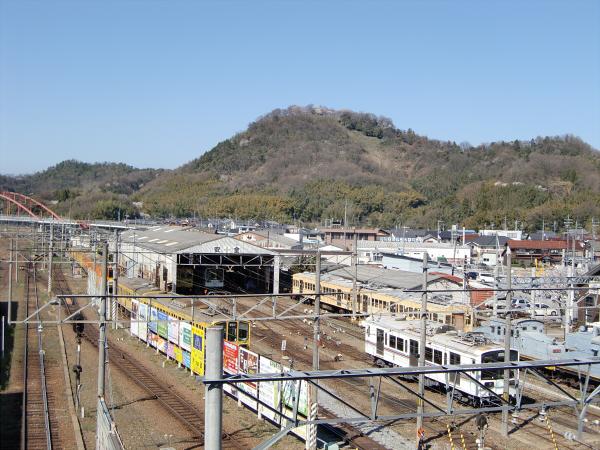 近江鉄道?彦根駅から撮った写真1