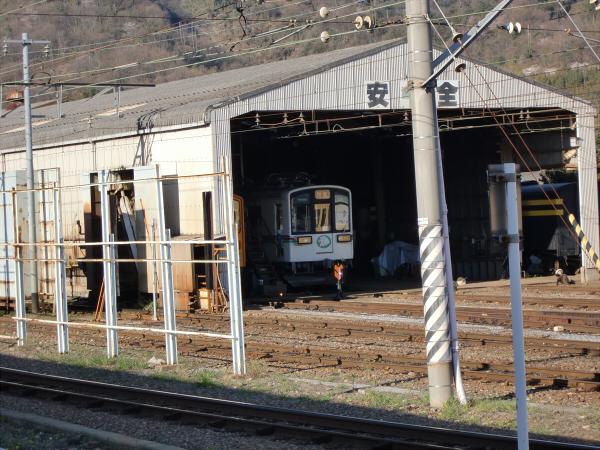 近江鉄道?彦根駅から撮った写真3