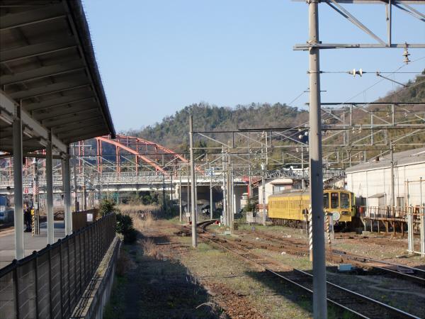 近江鉄道?彦根駅から撮った写真4