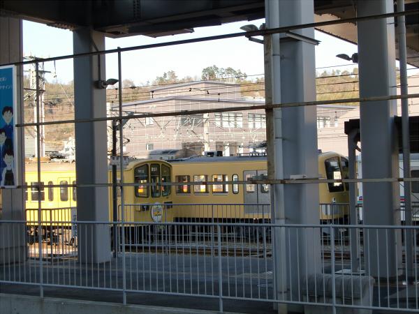 近江鉄道?彦根駅から撮った写真5