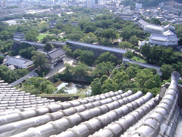 数年前の姫路城の写真2