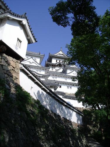 数年前の姫路城の写真3