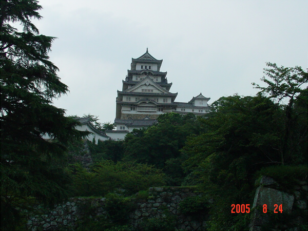 数年前の姫路城の写真4
