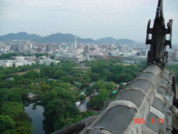 数年前の姫路城の写真5