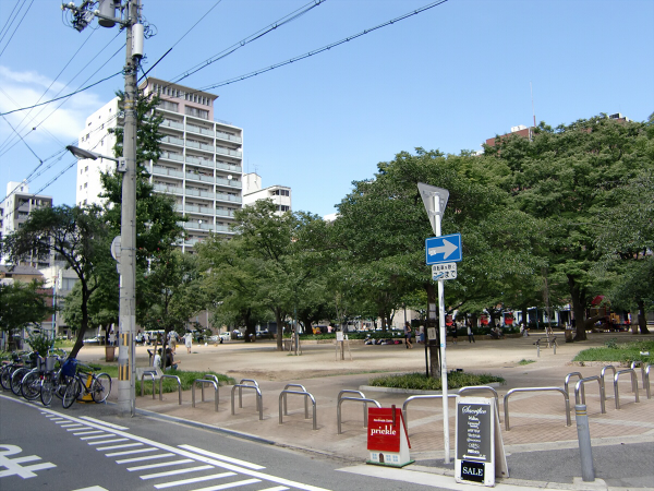 大阪堀江近辺景観写真1-3
