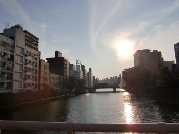 大阪堀江近辺景観写真1-B