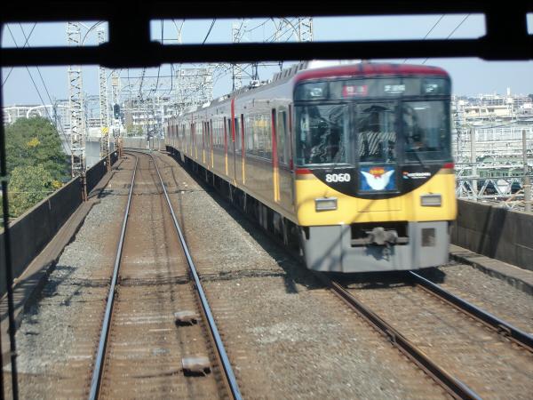 京阪電車走行中10