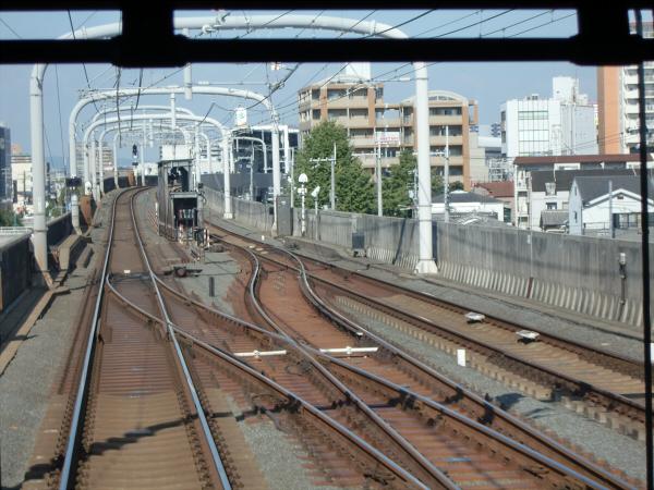 京阪電車走行中11