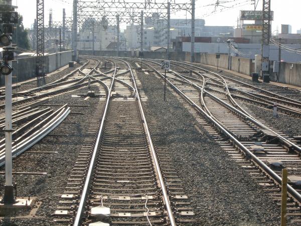 京阪電車走行中12