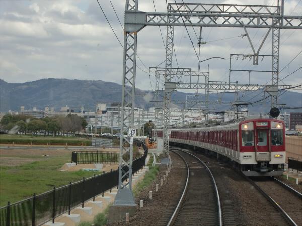 桜のついでに近鉄電車1