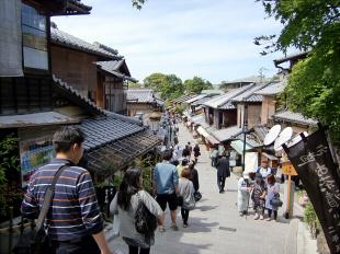 京都清水寺周辺で撮った写真2-3