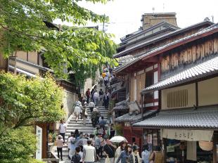 京都清水寺周辺で撮った写真2-4