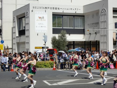 神戸まつりパレードの写真01