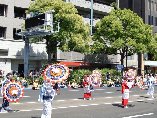 神戸まつりパレードの写真02