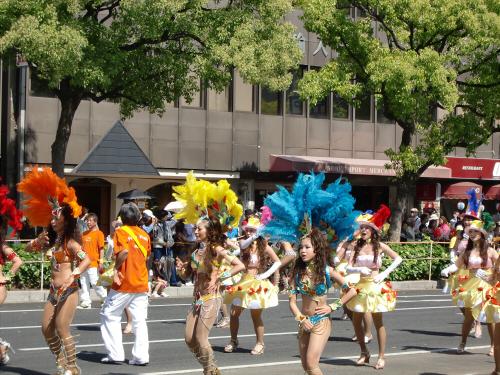 神戸まつりパレードの写真03