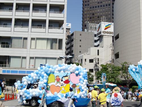 神戸まつりパレードの写真04