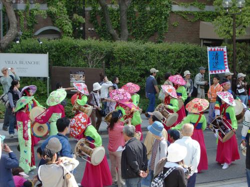 神戸まつりパレードの写真07