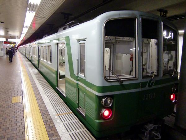 神戸地下鉄とか阪急電車1
