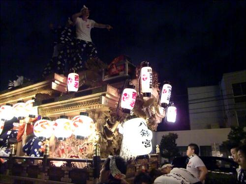 大阪市城東区の祭りの神輿05